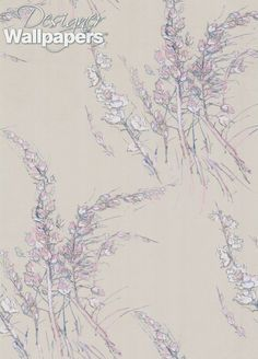 Wind Flowers is a balanced and delicate pattern, which as the name suggests has an element of movement that really brings the florals and foliage to life. Rendered in the style of pen and watercolour.