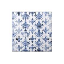 Dilour Blue 18 In X Carpet Tile 12 Tiles DILRBLUE