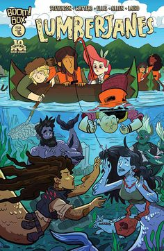 Preview: Lumberjanes #16, Cover - Comic Book Resources
