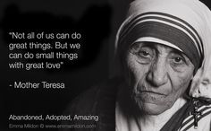 Paper dali blessed mother teresa of calcutta bendita madre teresa Christopher Hitchens, Mother Teresa Quotes, Maria Teresa, Quote Of The Week, We Are The World, Blessed Mother, Atheism, Great Love, Life Lessons
