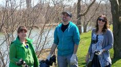 Earth Day 2013 - Qmates spread out through St Jacobs to do a springtime cleanup! #Quarry #EarthDay