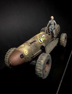 ANDIGOmodels / Pro Build Plastic Resin Scale Model Design by Andigo Kit Bash. Arte Zombie, Post Apocalyptic Art, Airplane Car, Metal Art Projects, Modeling Techniques, Rc Crawler, Perfect Model, Mad Max, Dieselpunk