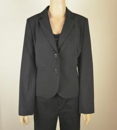 New with store tag Black Calvin Klein Blazer size 14 FREE SHIPPING