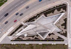 National Holocaust Monument - Picture gallery Daniel Libeskind, Architecture Memorial, Architecture Photo, Futuristic Architecture, Jewish Museum, Exposed Concrete, Studios, Gallery, Landscape Architecture