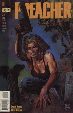 Preacher  33 Glenn Fabry Greg Capullo, Comics Online, Dc Comics, Book Cover 82c11261311