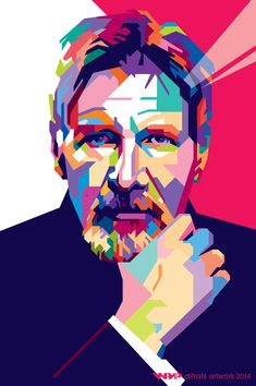 Harrison Ford wpap by difrats #art #vector #tracing #harrisonford #wpap #popart