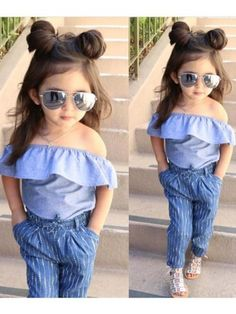 In this video, we will show you beautiful kids outfit ideas, baby girls dress designs, cute Kids Style & more. Find out the perfect outfits for your baby. Cute Little Girls Outfits, Stylish Baby Girls, Dresses Kids Girl, Kids Outfits Girls, Stylish Kids, Toddler Outfits, Cute Outfits, Kids Girls, Clothes For Girls
