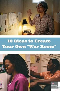 Spiritual Warfare ~ We're raving about the latest movie War Room which has united so many Christians around the nation to get in their prayer closets. Here's a few ideas on how you can revolutionize your prayer time with God!