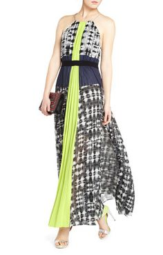 Constantine Pleated Maxi Dress | BCBG  saw this in harvery nichols last week and it is simply amazing
