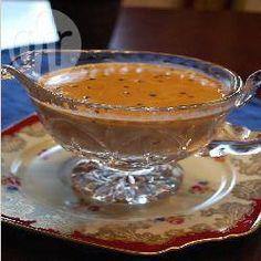 Recipe photo: Black peppercorn sauce