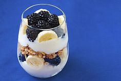 breakfast healthy, breakfast parfait, bananas, food, breakfast snacks