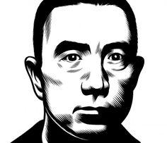 Yukio Mishima. Charles Burns portraits