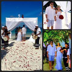 Sim, já renovamos os votos  #casamentonasmaldivas #surpresa #mimos #maldivas #magico #love #weddingroelu