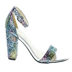 Classic High Heel Dress Sandal W Ankle Strap & chunky Block Heel Knee High Boots Dress, Dress With Boots, Dress Sandals, Dress Shoes, Stiletto Heels, High Heels, Evening Sandals, Green Velvet, Cute Shoes