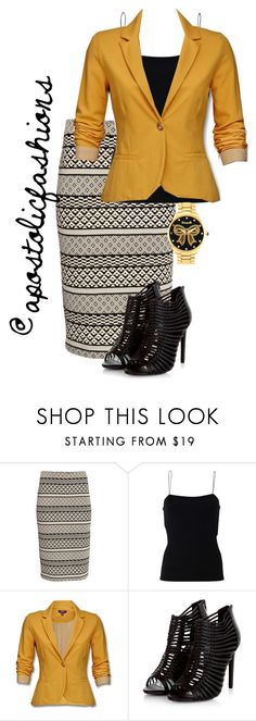 """""""Apostolic Fashions #1561"""" by apostolicfashions ❤ liked on Polyvore featuring H&M, T By Alexander Wang, Mexx, Betseyville, modestlykay and modestlywhit"""