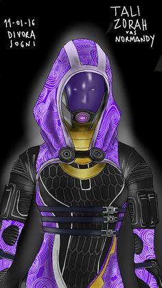 Tali Zorah Vas Normandy Mass Effect - Tali - Quarian