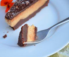 Erdnussbutter SChoko Cheesecake 9