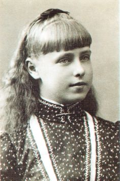 1890 ,  Princess Marie of Edinburgh, granddaughter of Queen Victoria and Tsar Alexander II.