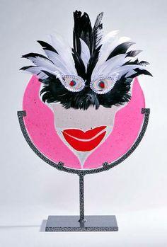 Custom Decorative Mask by Creative Glass Design | Hatch.co