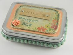 Personalized Prayer Box - unique gift for birthday, baptism, confirmation, baby girl, teenage girl, best friend