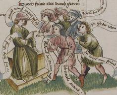 Thomasin <Circlaere>   Welscher Gast (a) Schwaben, um 1460-1470 Cod. Pal. germ. 320 Folio 30r