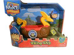 Fisher Price Mike The Knight Viking Ship Bath Adventure Toy New  #FisherPrice