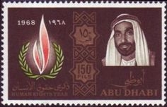 Human Rights Flame and Sheik Zaid
