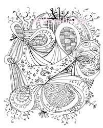 Zentangle Coloring Page. a lot of Zentangles