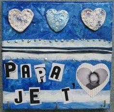 40_Fête des pères 2012_Cadre porte-clefs fini