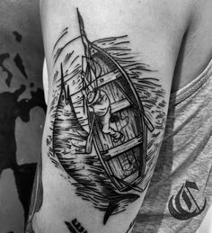 gael_cleinowThe old man and the sea done @laboucheriemoderne BRUSSELS.-------Cleinow.booking@gmail.com------ #blacktoptattooing #blackworkerssubmission #blacktattooing #blxckink #blxckwork #blacktattooart #blacktattoomag #btattooing #blackwork #justblack #justlines #blacktattoo #onlyblackart #tttism #gaelcleinow #tattoo #WTT #darkartist #TAOT #rightstuffmachines #berlin #brussels #lisbon #paris #london #iblackwork traditionalflashworker #flashaddict #oldmanandthesea