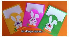 My dear friends, the file images I shared below belong to me … - Geburtstag Easter Crafts For Toddlers, Paper Crafts For Kids, Foam Crafts, Toddler Crafts, Diy For Kids, Diy And Crafts, Happy Birthday Cards, Diy Birthday, Puppet Crafts