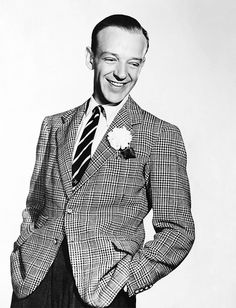 Fred Astaire - classic male posing I only wanted to dance ONE time with him but ....... :(  It was a dream