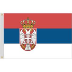 Drapeau de Serbie Pays Europe, Flag Of Europe, Banner, Gif Animé, Flags Of The World, Porsche Logo, Couture, Logos, Art