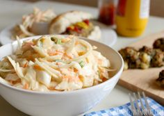 Pineapple coleslaw is an even more summery-tasting version of the classic BBQ side dish. Try it today, it takes just 10 minutes to prepare!