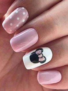 Chic Nail Art, Pink Nail Art, Chic Nails, Stylish Nails, Trendy Nails, Pink Nails, Pink Art, Matte Nails, Love Nails