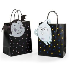 Vampirina Birthday - Vampirina Kids Party Decoration - Celebrat : Home of Celebration, Events to Celebrate, Wishes, Gifts ideas and more ! Birthday Bag, 4th Birthday Parties, Birthday Ideas, Girl Parties, Kids Party Decorations, Party Themes, Party Ideas, Ideas Cumpleaños, Treat Bags