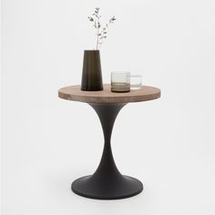 METAL AND WOOD PEDESTAL TABLE - Occasional Furniture - Decoration   Zara Home Norge / Norway