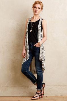 Gillie Duster Vest - #anthrofave