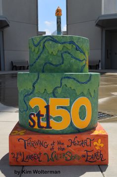 Cakeway to the West - Confluence Tower view 1 #cakewaytothewest #stl250