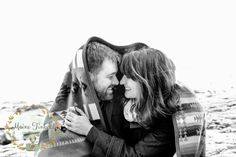 Maine engagement photo from The Maine Tinker Studios