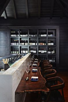 restaurant interieur Be inspired by outstanding bars and restaurants around the world Lounge Bar, Lounge Design, Design Room, Design Design, Design Ideas, Design Suites, Bar Designs, Lounge Decor, Design Trends
