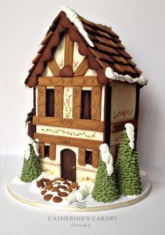 A Stunning Gingerbread House, and the Ten Thousand Villages Foodie Festival Friday