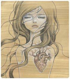 """dishonest heart"" by audrey kawasaki"