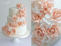 Blush Wedding Dessert Table