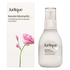 Jurlique Rosewater Balancing Mist | Use as a toner, spray to set makeup or perfect for travel