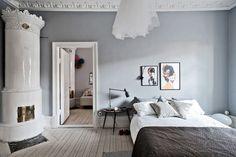 10 väggfärger som gör små rum större