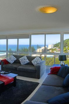 Looking for Burleigh heads accommodation? At Burleigh Beach Tower, we can help to choose the best Burleigh heads accommodation on gold coast. Call us now 5598 9200 for more information. Holiday Apartments, Rental Apartments, Holiday Accommodation, Need A Vacation, Sofa, Couch, Gold Coast, Love Seat, Holiday Rentals