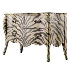 Safari Chic - Animal Print Furniture & Accents on Joss and Main  I WANT THIS!