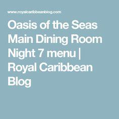 13) oasis of the seas. main dining room. | marine engineering