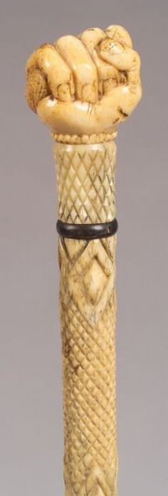 Marine Ivory Walking Stick